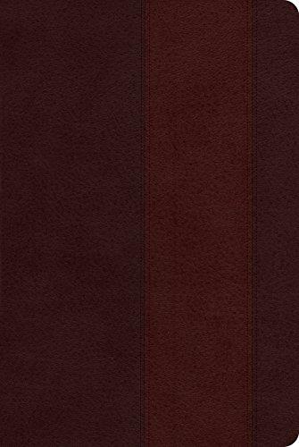 9781433537370: ESV Single Column Heritage Bible (TruTone, Brown/Burgundy, Band Design)