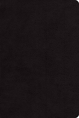 ESV Single Column Heritage Bible (Black): ESV Bibles by Crossway