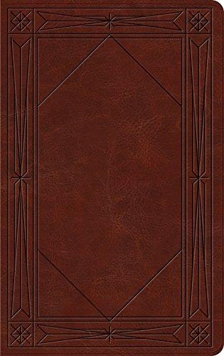 ESV Thinline Bible (TruTone, Brown, Window Design) (9781433537615) by ESV Bibles by Crossway