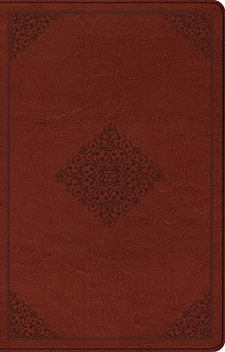 ESV Large Print Thinline Reference Bible (TruTone, Tan, Ornament Design) (143354055X) by ESV Bibles by Crossway