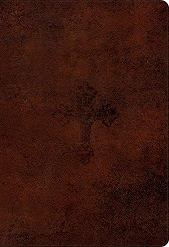 9781433540608: ESV Student Study Bible (TruTone, Walnut, Weathered Cross Design)