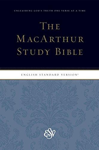 9781433540615: ESV MacArthur Study Bible, Personal Size