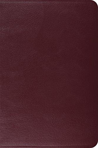 ESV Gospel Transformation Bible (Burgundy): ESV Bibles by Crossway