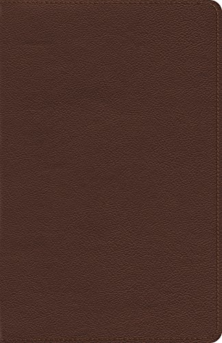 ESV Heirloom Thinline Bible (Calfskin, Brown): ESV Bibles by Crossway