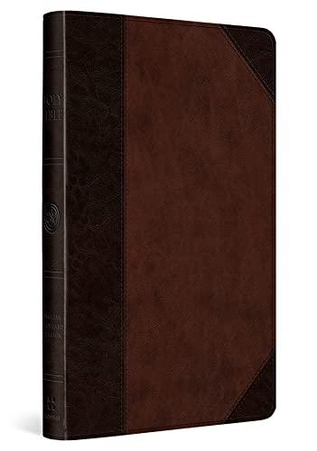 9781433541629: ESV UltraThin Bible (TruTone, Brown/Walnut, Portfolio Design)
