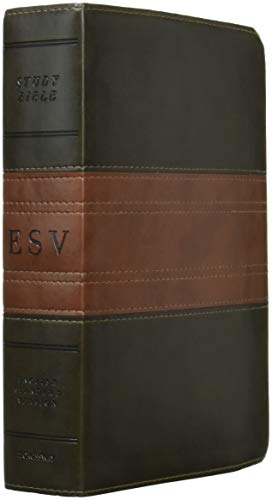 9781433544057: ESV Study Bible (TruTone, Forest/Tan, Trail Design, Indexed)