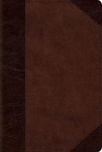 9781433544118: ESV Reader's Bible (TruTone, Brown/Walnut, Portfolio Design)