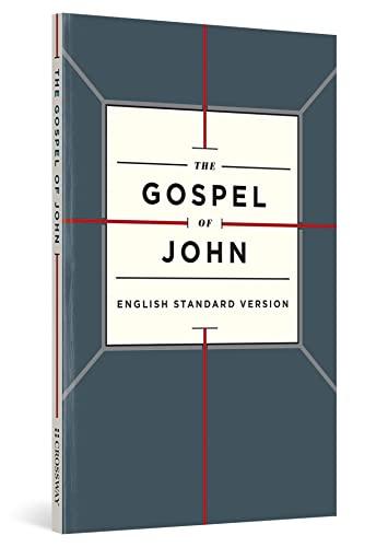 ESV Gospel Of John-Cross Design SC