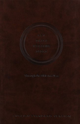 ESV Daily Reading Bible: Through the Bible in 365 Days, based on the popular M'Cheyne Bible ...
