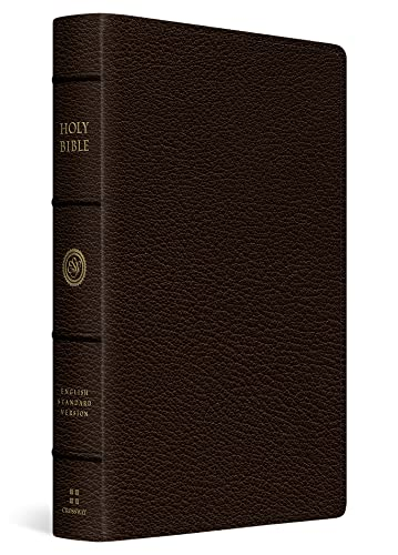 9781433544491: ESV Heirloom Single Column Legacy Bible (Goatskin, Deep Brown)