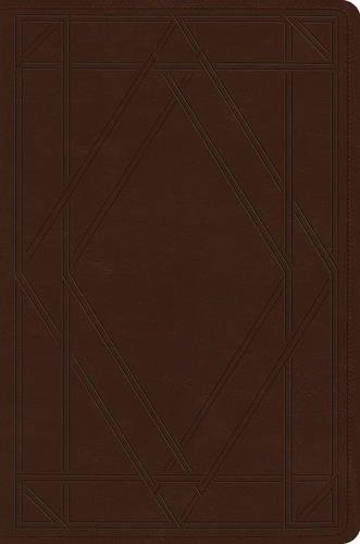 9781433544507: ESV Single Column Legacy Bible (TruTone, Chestnut, Wood Panel Design)