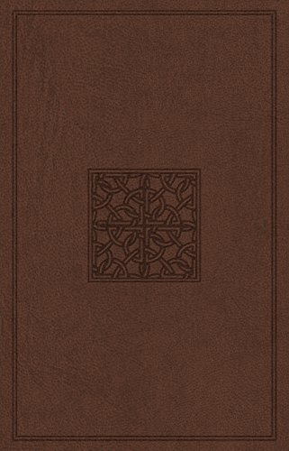 9781433547737: Holy Bible: ESV Value Edition Truflat, Walnut, Celtic Imprint Design