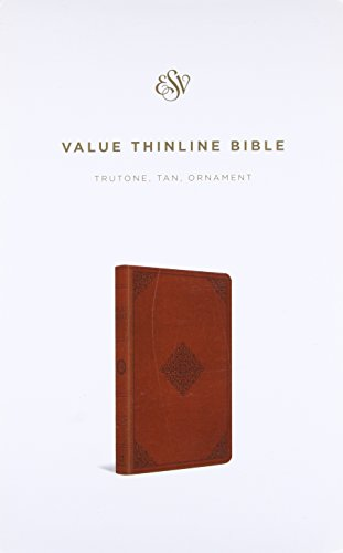 9781433548345: ESV Value Thinline Bible (TruTone, Tan, Ornament Design)