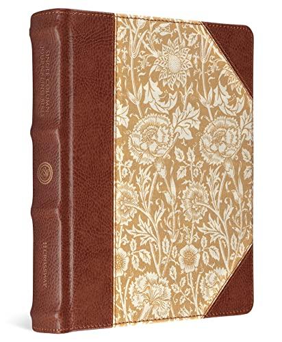 Single Column Journaling Bible-ESV-Antique Floral Design (Hardcover)