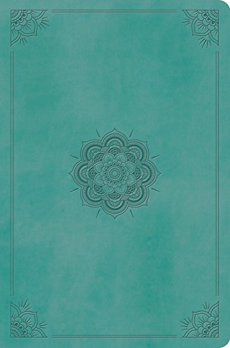 9781433551666: Holy Bible: English Standard Version, Value Compact Bible, Trutone Turquoise, Emblem Design