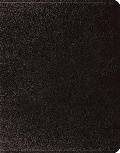 9781433552212: ESV Single-Column Journaling Bible (Black, Genuine Leather)