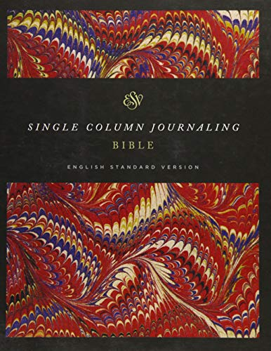 9781433552243: ESV Single Column Journaling Bible (Classic Marbled)