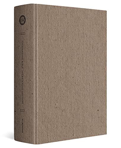 9781433552786: ESV Journaling Bible, Interleaved Edition (Cloth over Board, Tan)