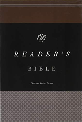9781433553295: ESV Reader's Bible