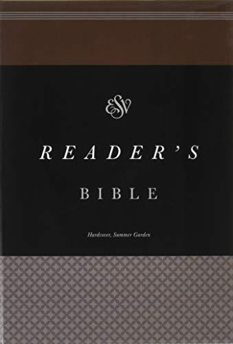 9781433553295: ESV Reader's Bible (Summer Garden)