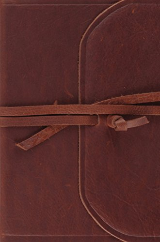 9781433554650: Holy Bible: English Standard Version, Natural Leather Brown, Flap with Strap