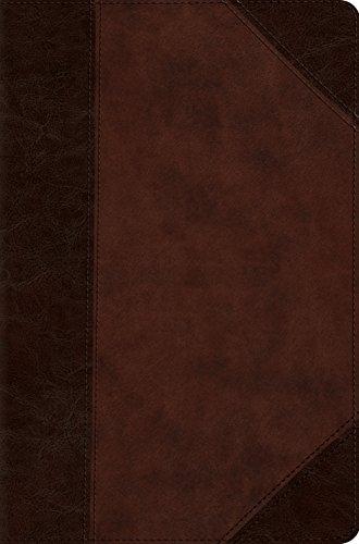 9781433554674: ESV Compact Bible (Trutone, Brown/Walnut, Portfolio Design)
