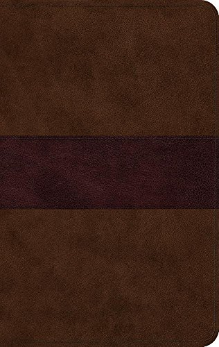 9781433555954: ESV Large Print Thinline Bible (TruTone, Chocolate/Plum, Trail Design)