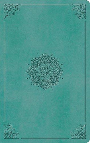 9781433555985: ESV Large Print Value Thinline Bible (TruTone, Turquoise, Emblem Design)