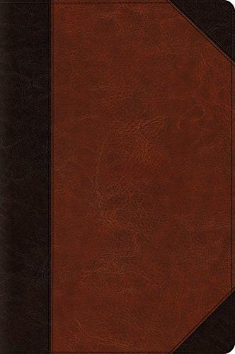 9781433557620: ESV Large Print Bible (TruTone, Brown/Cordovan, Portfolio Design)