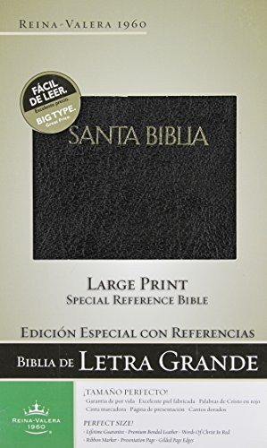 9781433600050: Biblia Edicion Especial con Referencias: Reina-Valera 1960, Negro, Piel Fabricada/ Black Bonded Leather (Spanish Edition)
