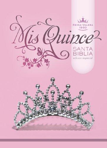 9781433600456: RVR 1960 Biblia Mis Quince, blanco/plata imitación piel (Spanish Edition)