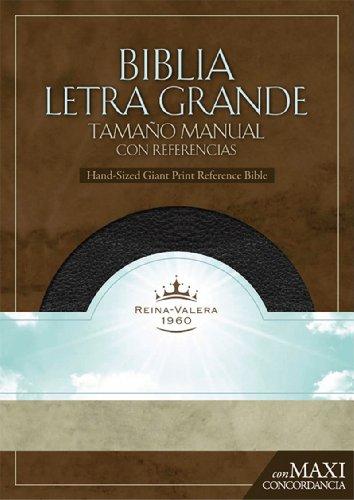 9781433600494: Santa Biblia/ Holy Bible: Reina-Valera 1960, Negro, Imitacion Piel, Biblia Letra Granda Tamano Manual, Con Referencias