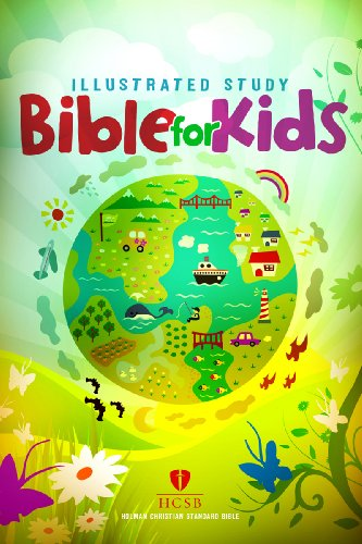 9781433600715: HCSB Illustrated Study Bible for Kids, Hardcover