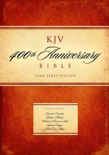 KJV 400th Anniversary Bible, Black Genuine Leather: Holman Bible Editorial Staff