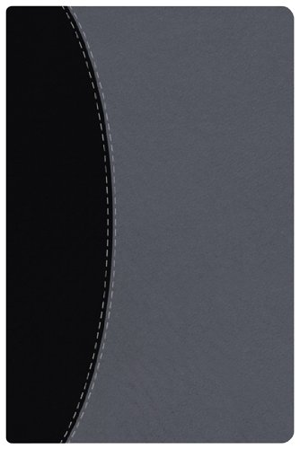 9781433601200: HCSB Ultrathin Reference Bible, Black/Gray Simulated Leather