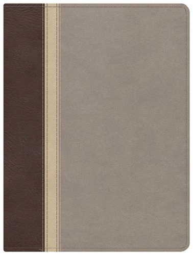 9781433601583: The Mission of God Study Bible, Brown/Cream/Taupe Simulated Leather
