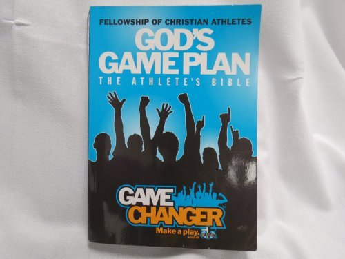 9781433601613: God's Game Plan The Athelete's Bible Game Changer Make A Play 2011