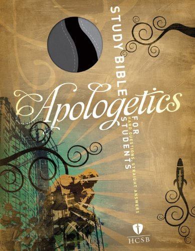 9781433601637: Apologetics Study Bible for Students, Black/Gray Simulated Leather