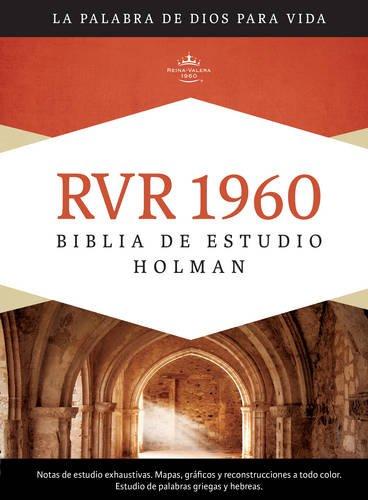 9781433601781: RVR 1960 Biblia de Estudio Holman, tapa dura con índice (Spanish Edition)