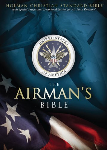 9781433602436: HCSB Airman's Bible, Blue LeatherTouch