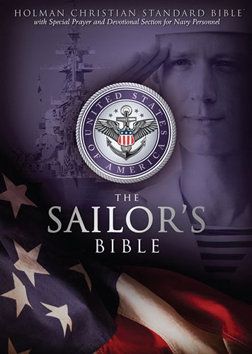 HCSB Sailor's Bible, Black Simulated Leather: Holman Bible Publishers