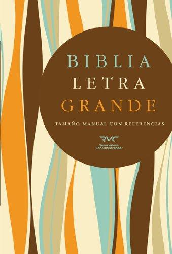 9781433602603: RVC Biblia Letra Grande Tamaño Manual, tapa dura (Spanish Edition)