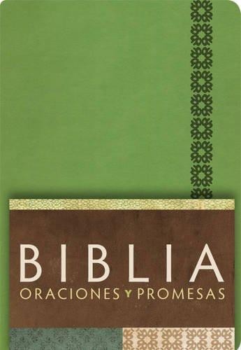 9781433602719: RVC Biblia Oraciones y Promesas - Verde Manzana símil piel con índice (Spanish Edition)