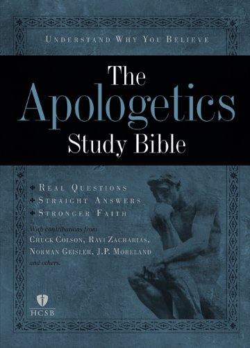 9781433602856: Apologetics Study Bible, Hardcover
