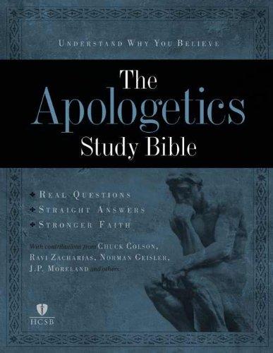 Apologetics Study Bible, Brown/Tan LeatherTouch: Doug Powell, James Porter Moreland, Jeremy ...
