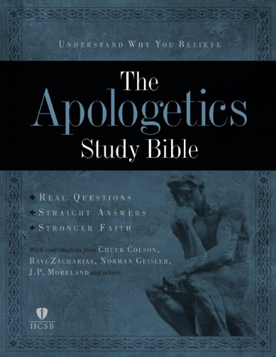 9781433602917: Apologetics Study Bible, Black Genuine Leather