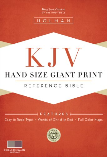 9781433603013: Hand Size Giant Print Reference Bible-KJV