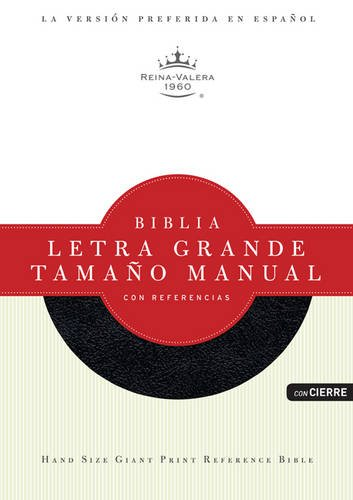 9781433603082: Biblia Letra Grande Tamano Manual Con References-Rvr 1960