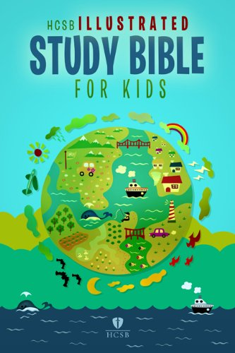 9781433603228: HCSB Illustrated Study Bible for Kids, Printed Hardcover