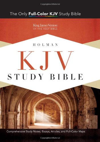 KJV Study Bible, Pink/Brown LeatherTouch